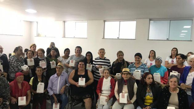 Santa Casa promove confraternização para os Pacientes do setor de oncologia.